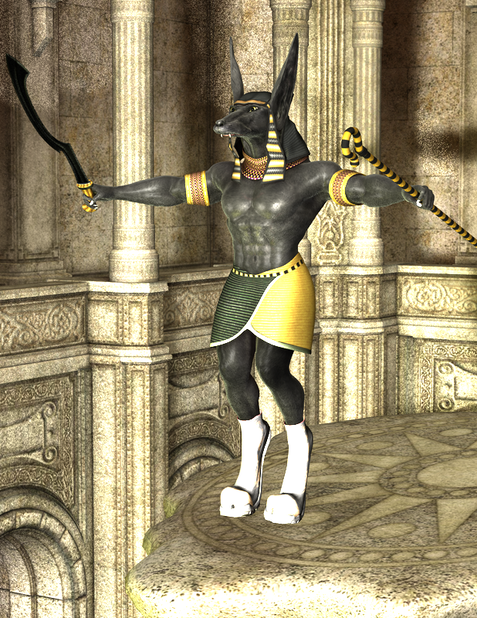 Anubis in Cavern