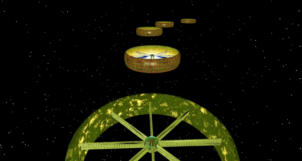 Dyson-Sphere– Wheels in Orbit | Systems World | Derek Hitchins